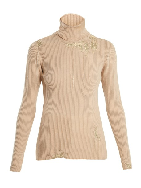 Hillier Bartley sweater gold