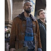 coat,robin hood,movie,celebrity,jamie foxx,suede leather,fashion,ootd,style,menswear,outfit,shopping