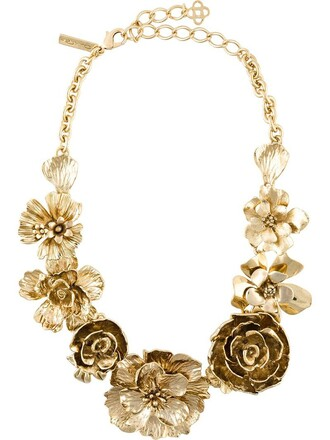 metallic women statement necklace statement necklace jewels