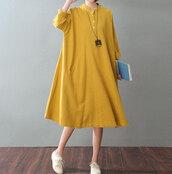dress,oversize women dress