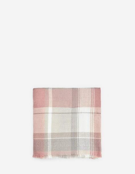 Stradivarius grey scarf pastel scarf pink grey pastel pink