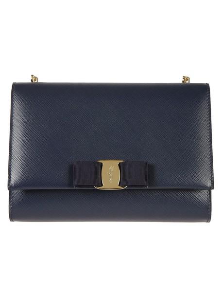 Salvatore Ferragamo bag shoulder bag blue
