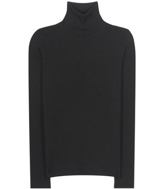 Prada Cashmere And Silk-blend Turtleneck Sweater in black