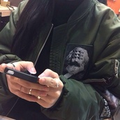 coat,einstein,jacket,bomber jacket,green bomber jacket,zip,green jacket,patchwork,grunge,tumblr,camouflage,dak green,green,marx,tumblr outfit,army green jacket,army green,graphic jacket,graphic tee,picturr,zipper jacket,fashion,urban,streetwear,streetstyle,street,cuffed,trendy,swag,swag jacket,high fashiion,pockets,khaki bomber jacket,black bomber jacket,fashion vibe,retro,olive green,olive jacket,sweater,green bomber,grey,vintage,black