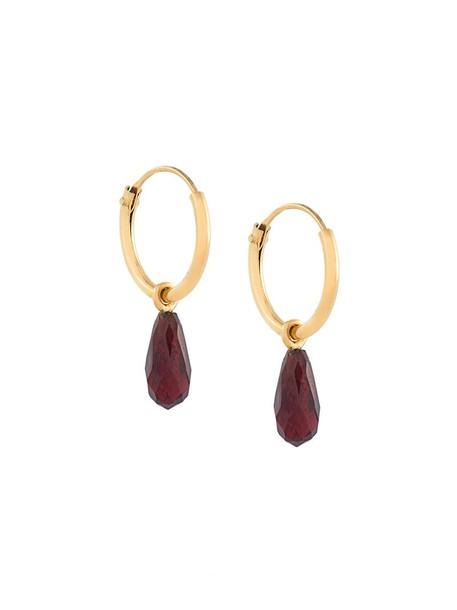 Wouters & Hendrix women love earrings gold silver grey metallic jewels