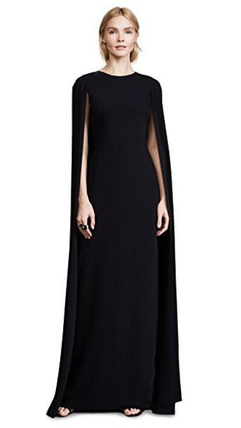 Marchesa Notte gown black dress