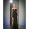 Black sexy sweetheart strapless long dress 2016 prom dresses