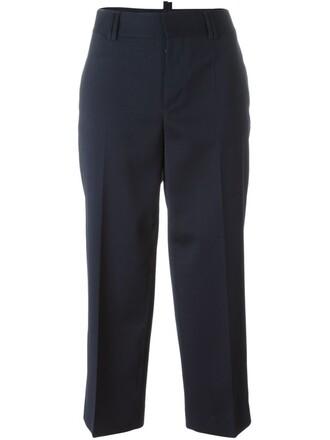 high blue pants