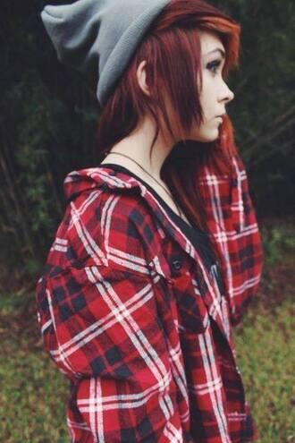 top shirt alternative grunge indie soft grunge scene flannel
