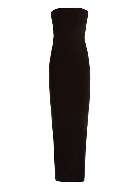 Wolford dress strapless dress strapless black