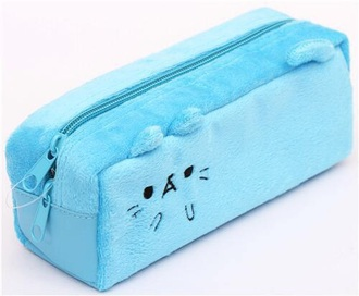 home accessory back to school school supplies pencil case kawaii accessory soft