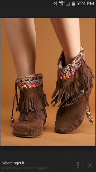 moccasins moccasin boots ankle boots beads