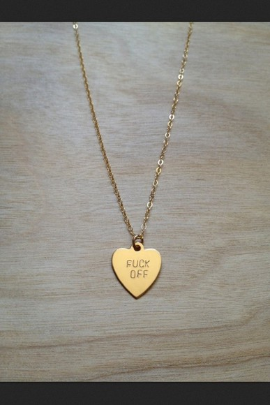 tumblr necklace jewels heart