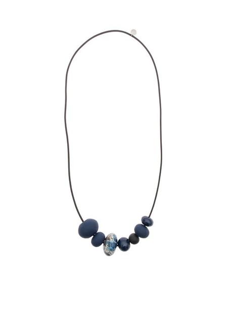 Maria Calderara necklace blue jewels