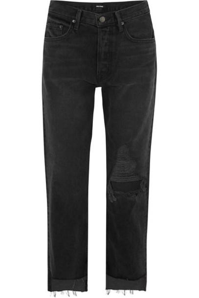 GRLFRND jeans high charcoal