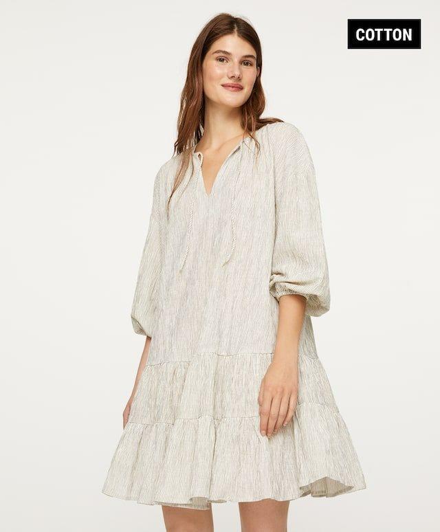 oversize cotton tunic