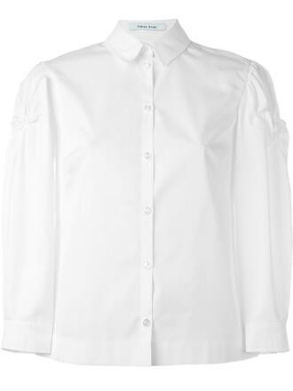 shirt white top