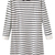 ROMWE | Lace Collar Striped Slim Autumn Dress, The Latest Street Fashion