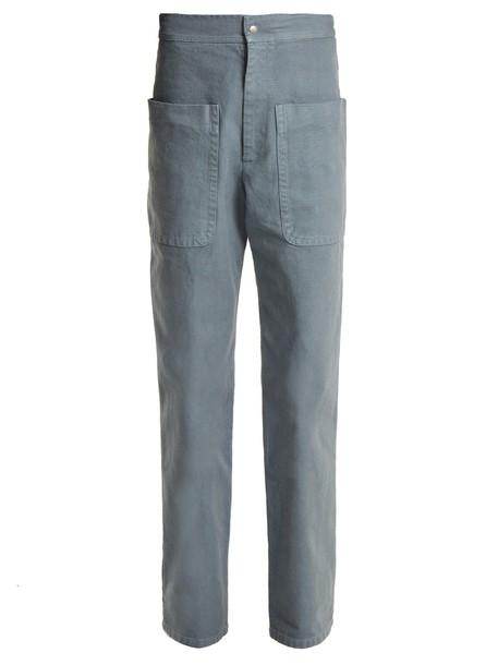 Isabel Marant etoile cotton blue pants
