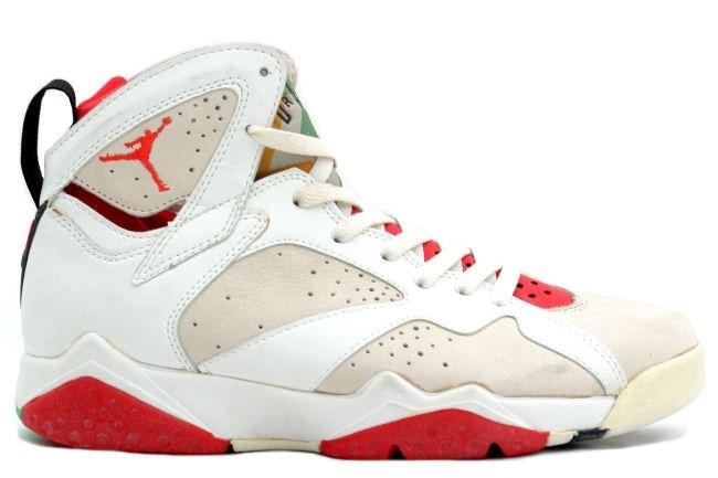 Air Jordan 7 (VII) Original Hare Jordan (White Light Silver True Red),Buy Jordan Online