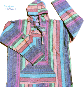 - Multi Baja Hoodie - Mexican Threads