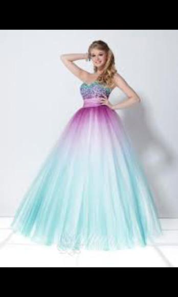 dress aqua blue