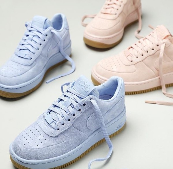 Shoes Nike Air Force 1 Low Sneakers Baby Blue Baby