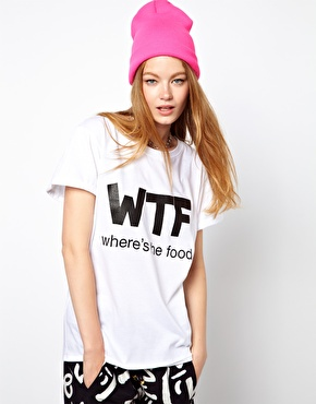 Local Heroes | Local Heroes Where's The Food T-Shirt at ASOS