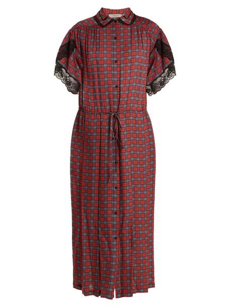 Preen Line dress red