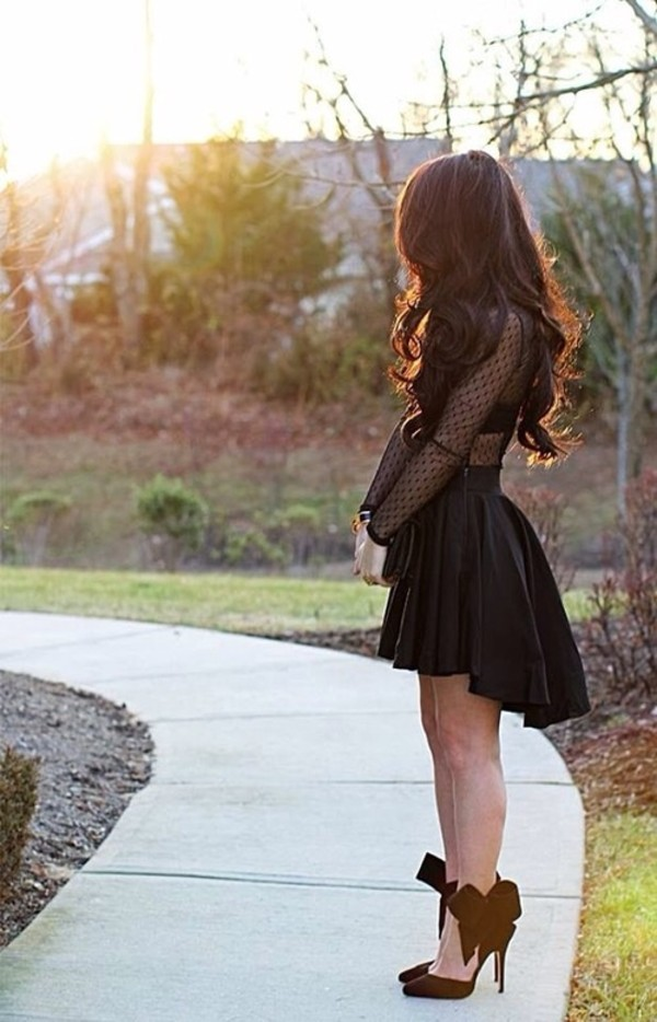 dress little black dress prom dress shoes shirt