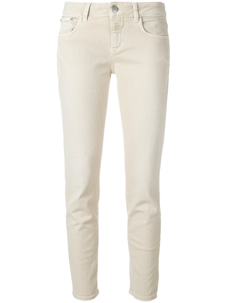 Closed jeans women spandex nude cotton 24