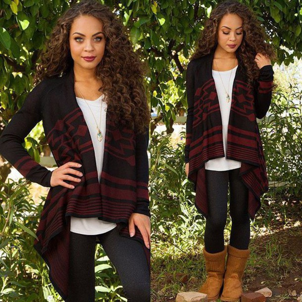 Sweater Cute Winter Outfits Leggings Boots Brown Boots