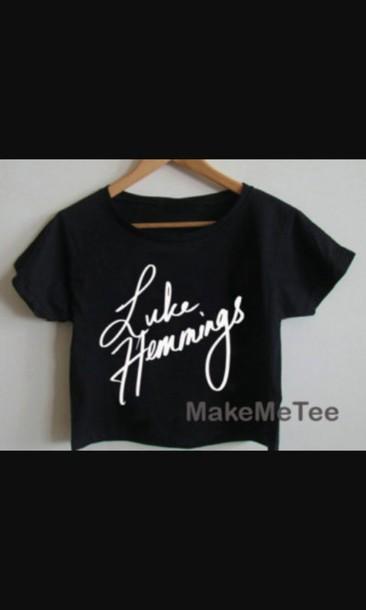 5sos tees luke hemmings shirt