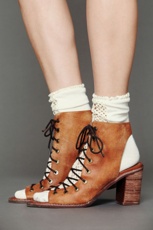 jeffrey campbell   free people womens minimal lace up heel