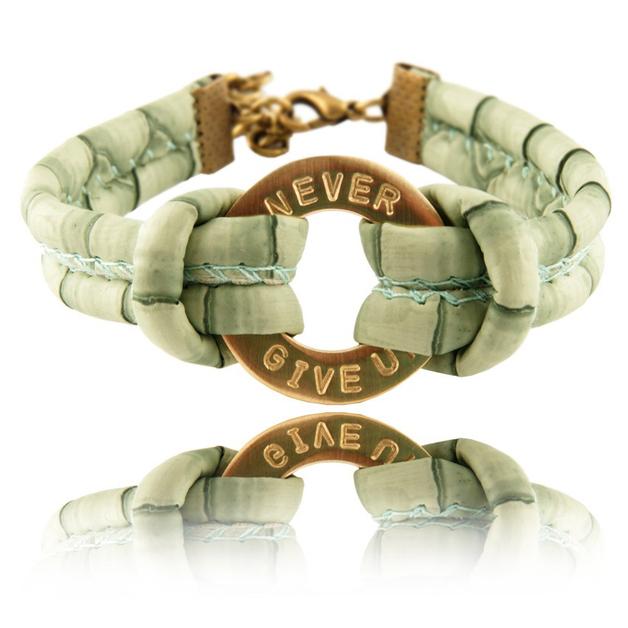 Braccialetti dell'amicizia - braccialetto personalizzato con l'anello - un prodotto unico di SheBijou su DaWanda