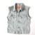 Strut Clothing |   Vintage Levi Sleeveless Studded Denim Jacket – UK 12, Chest 36″
