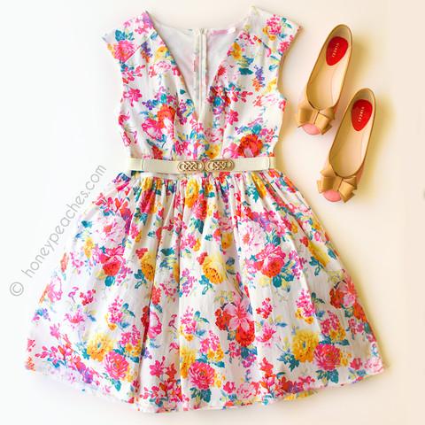 Meet Me At High Tea Dress – Honey Peaches
