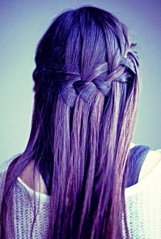 hair accessory fashion fishtail braid brunette