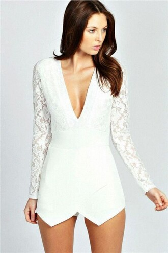 dress white blanco