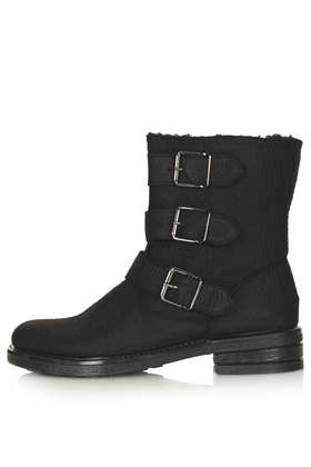 MARQUIS Multi Buckle Boots - Boots  - Shoes  - Topshop