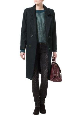 Ganni Classic coat - blue - Zalando.co.uk