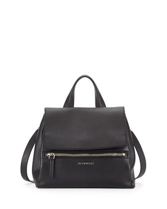 Givenchy Antigona Small Box Calf Satchel Bag, Gray