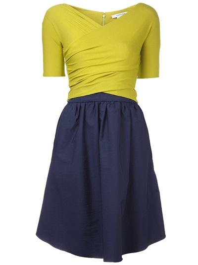 Carven Two-tone Dress - Hampden - Farfetch.com