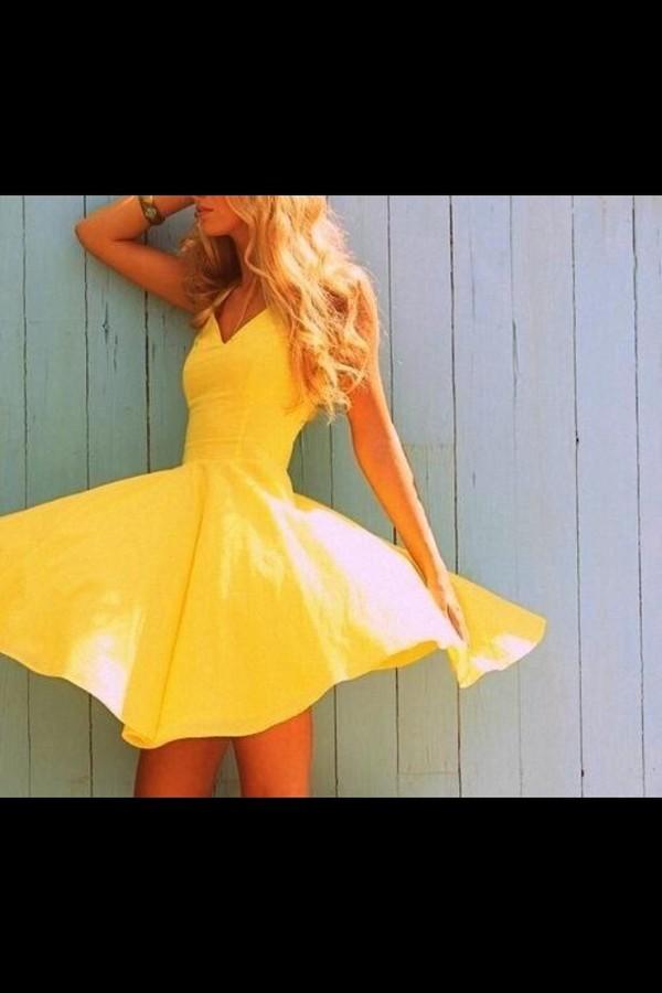 dress yellow yellow dress sundress