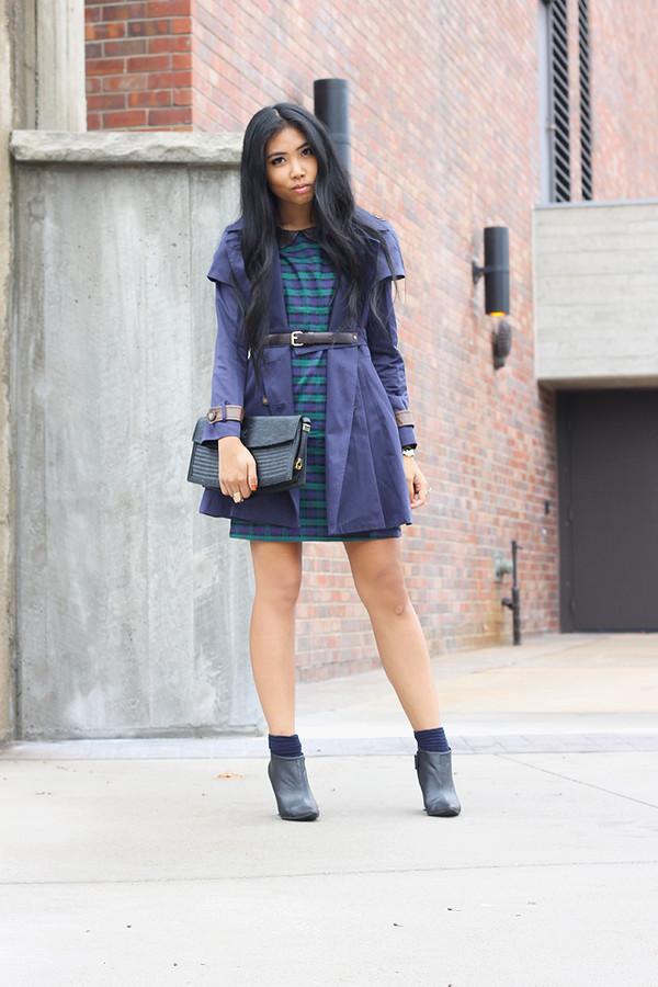 fashion of a novice dress coat shoes bag