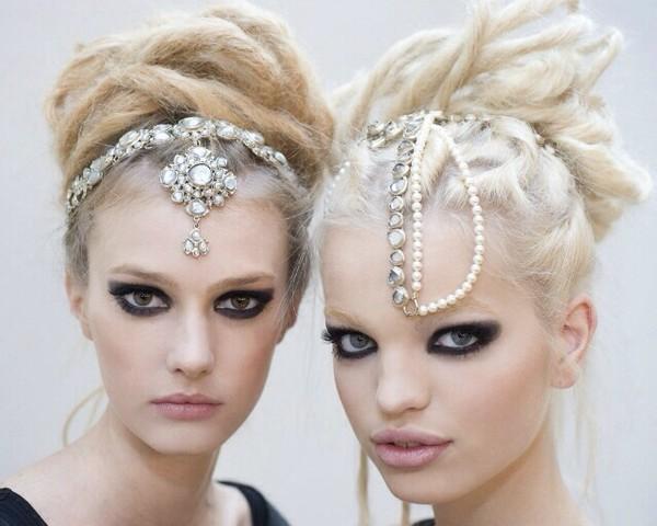 hat chain jewelry headband head jewels
