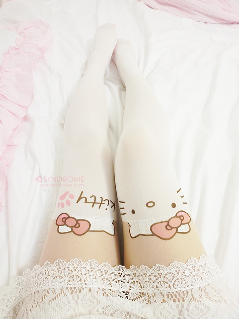 SYNDROME | Hello Kitty Thigh High Tights