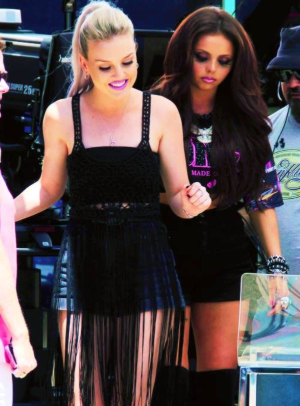 dress perrie edwards top