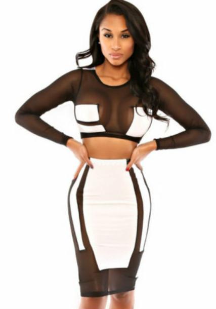 dress two piece dress set