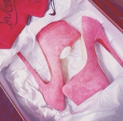 christian louboutin Peach/pink 160mm Daffodile Suede Courts Size 4/37 | eBay